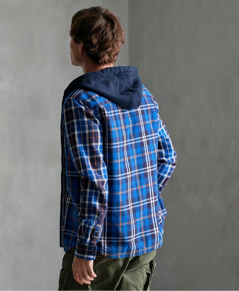Superdry Denim Goods skjorte med hette Herre Sale View All