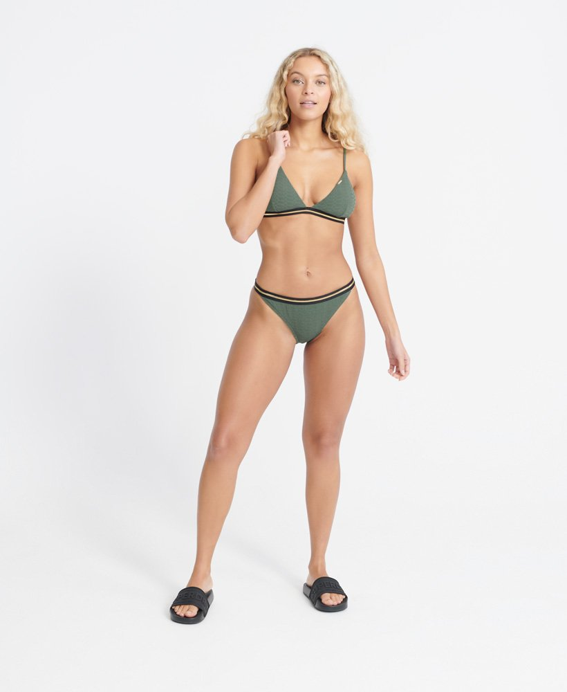 Superdry Damen Sahara Fixed Tri Bikinioberteil
