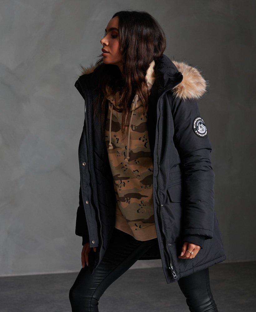 Superdry Ashley Everest Parka   Damen Jacken Und Mäntel