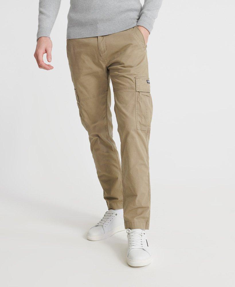 pantalon homme cargo kaki