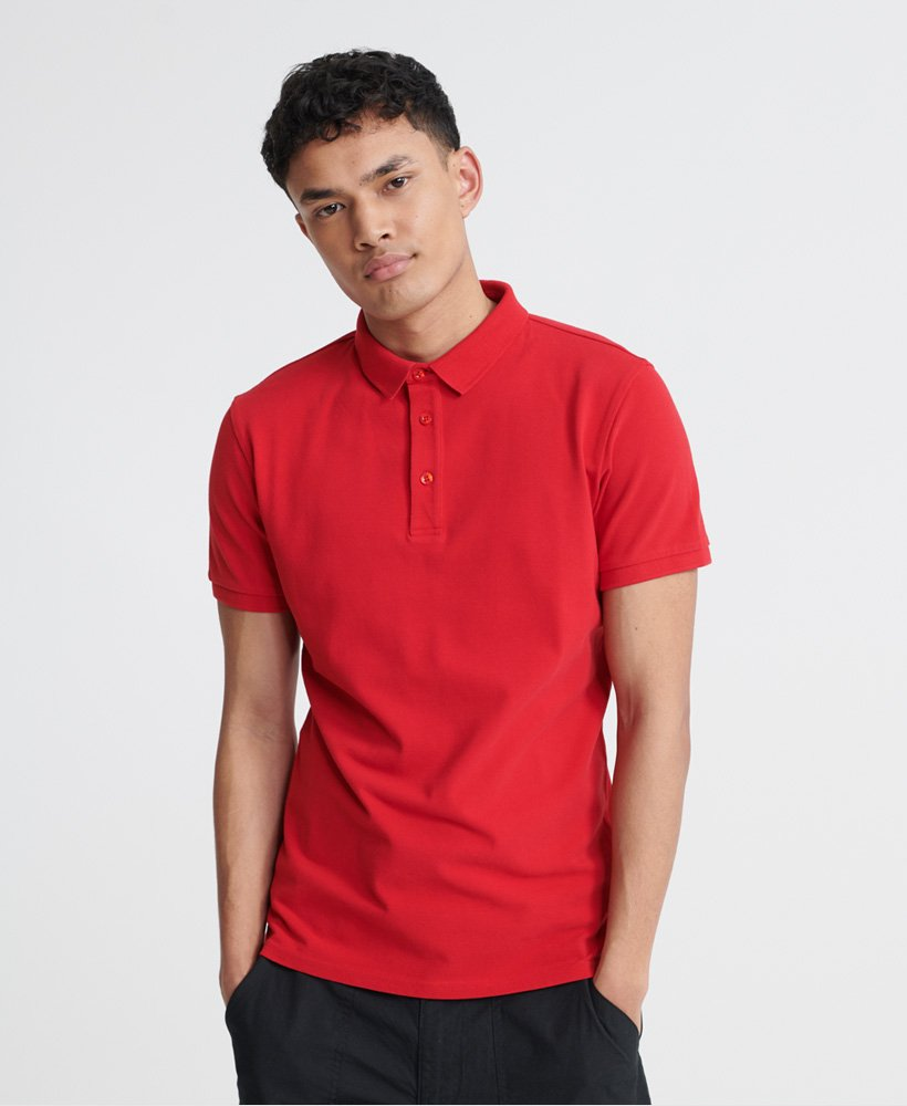 Superdry City Short Sleeved Polo Shirt thumbnail 1