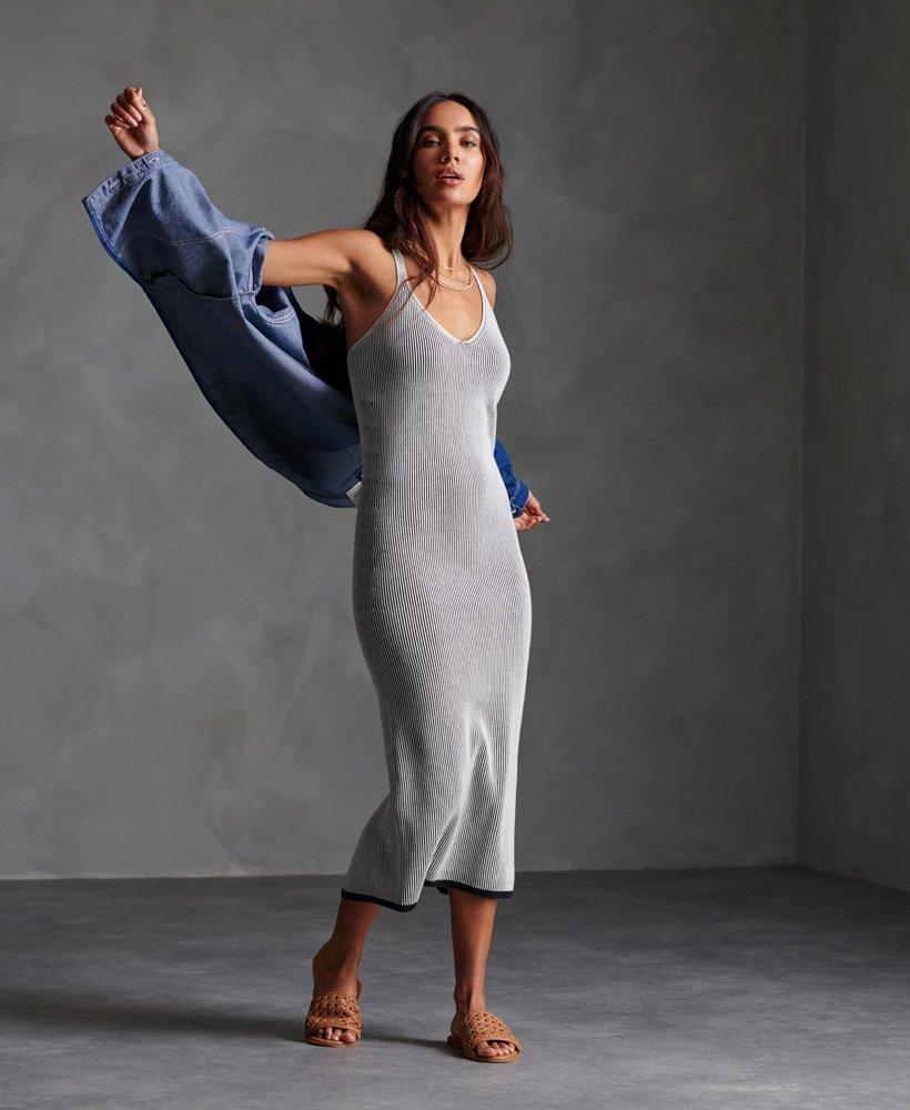 Superdry Edit Knitted Slip Dress