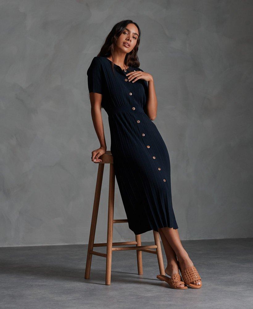 Superdry Tilly Knit Midi Dress 0