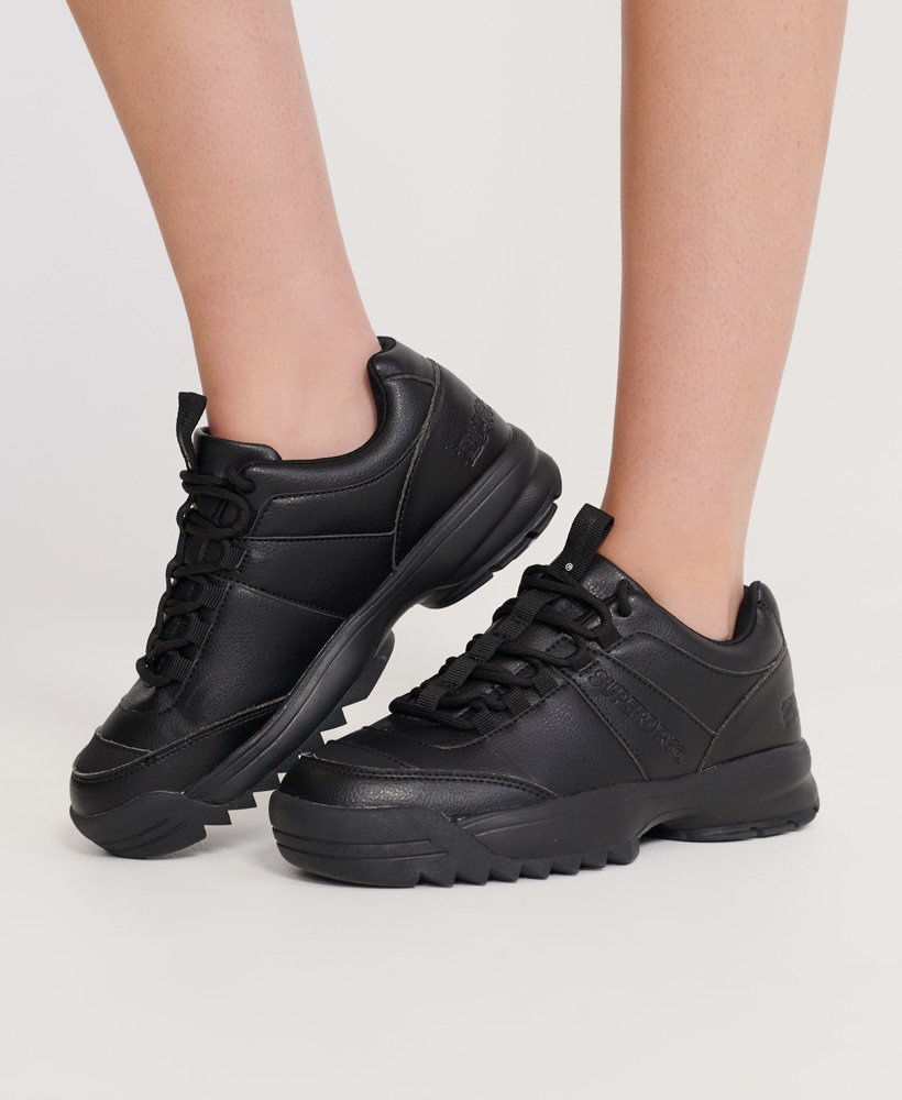 Womens - Chunky Trainers in Black