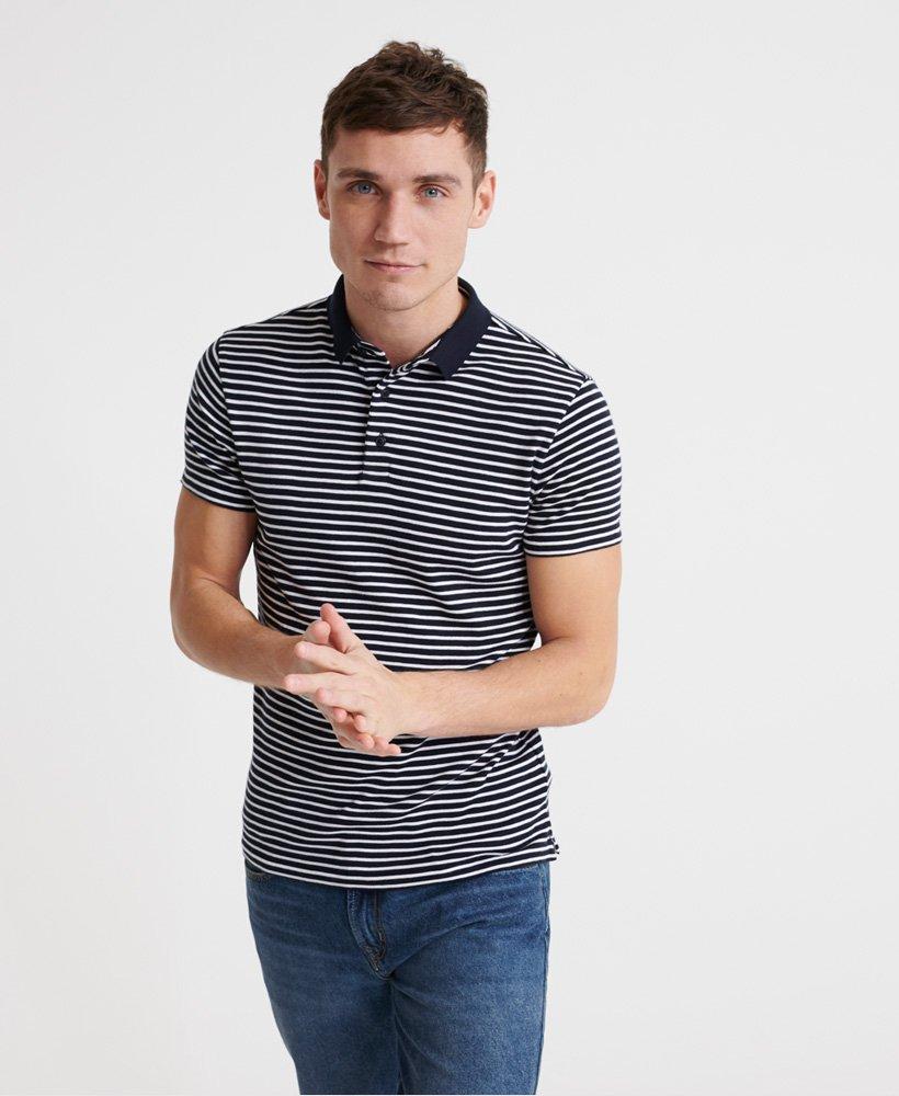 Superdry Edit Pima Short Sleeve Polo Shirt thumbnail 1