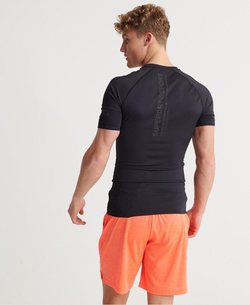 Superdry Training kompresjons T skjorte Herre T skjorter