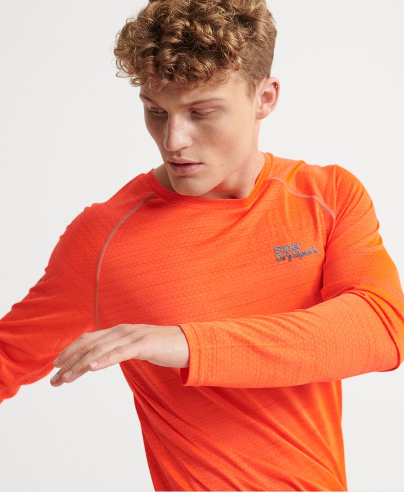 Superdry Active Loose Microvent Long Sleeve T-shirt thumbnail 1