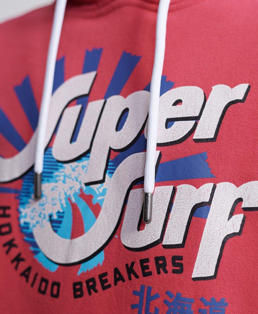 Superdry Shapers N Makers huvtröja med borstat foder