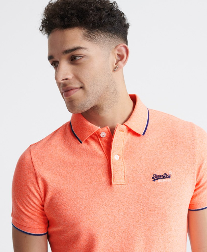 Superdry Poolside Pique Polo Shirt thumbnail 1