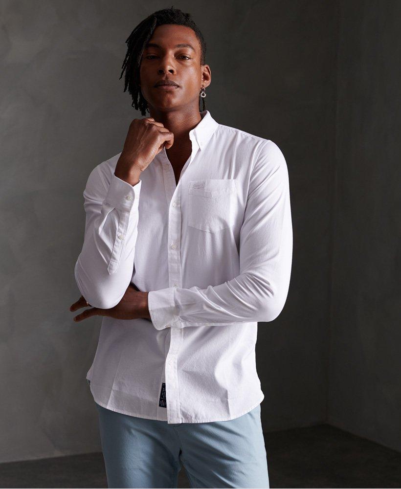 Superdry Camisa Premium University Oxford  thumbnail 1