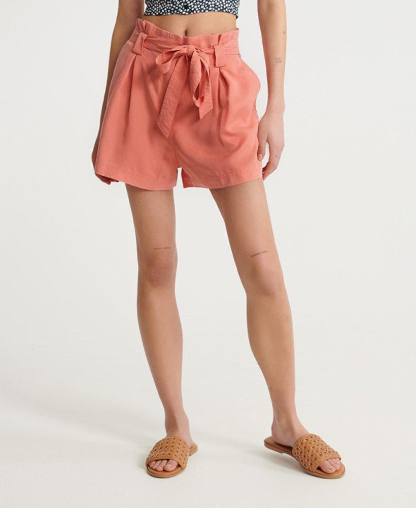 Superdry Desert Paper Bag shorts Shorts voor Dames