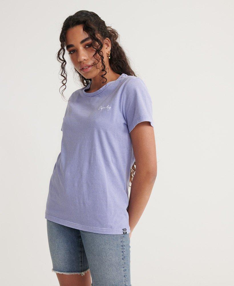 Superdry Orange Label rundhalset T skjorte Dame T skjorter