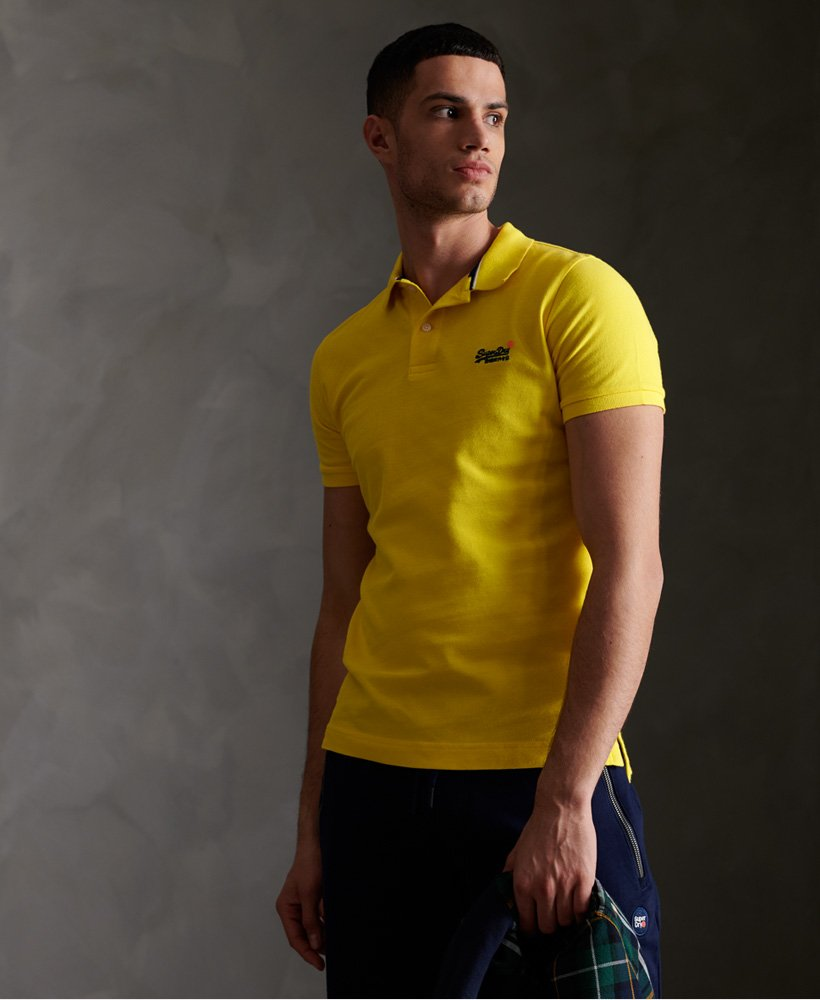 Superdry Classic Pique Short Sleeve Polo Shirt thumbnail 1