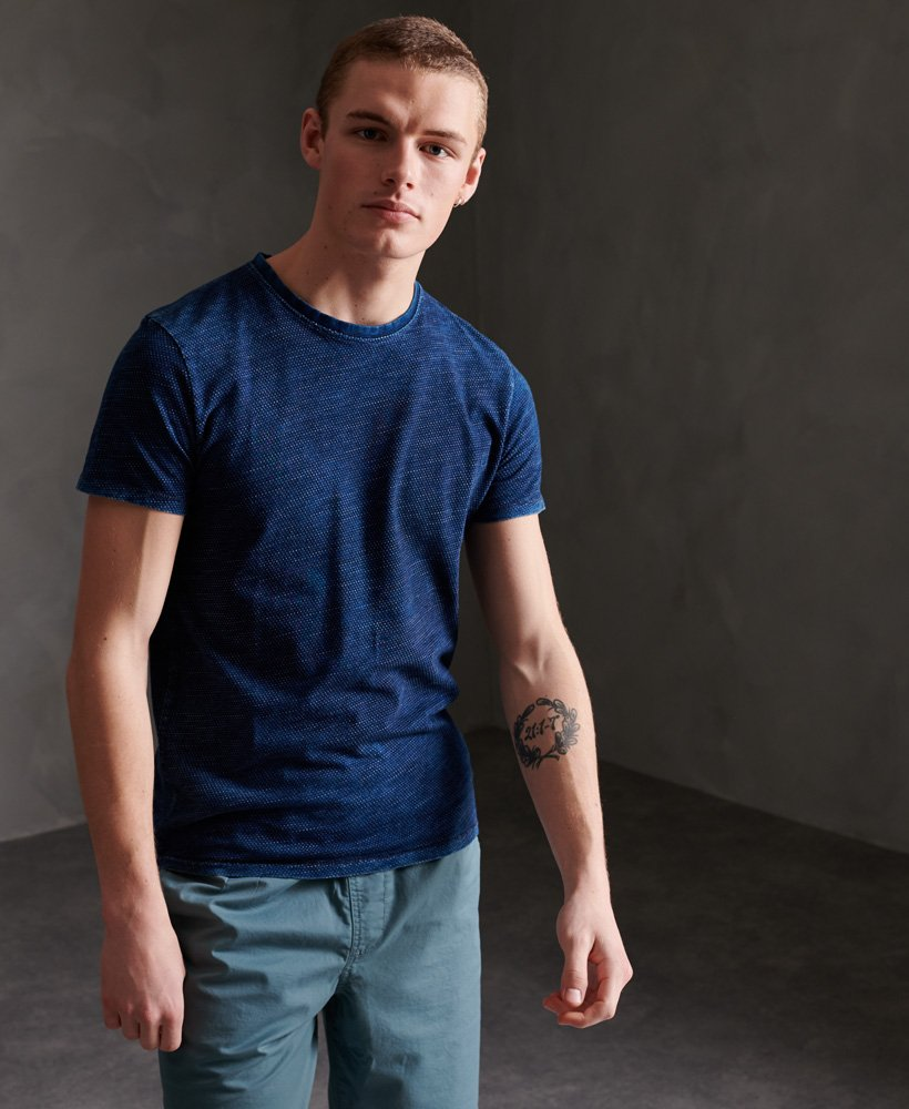 Homme Superdry Denim Goods Co texture T-Shirt