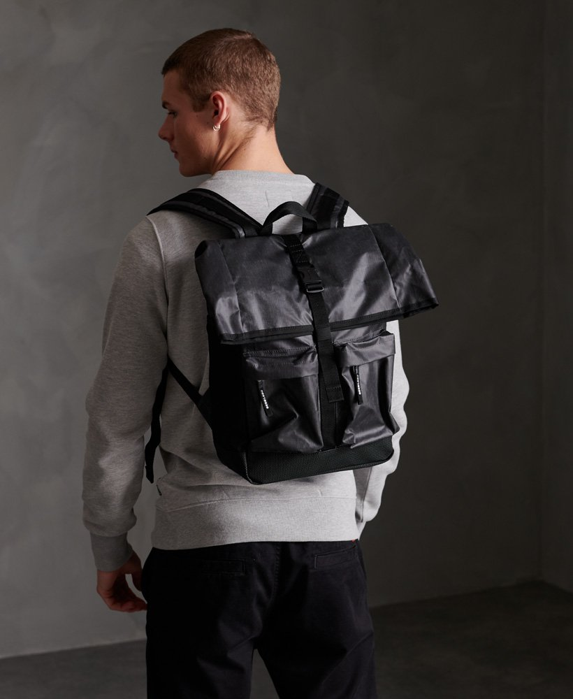 Superdry Roll Top Tarp Backpack thumbnail 1