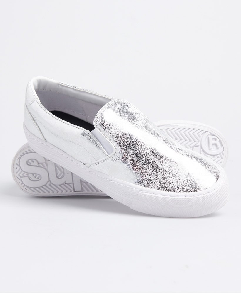 Womens - Classic Slip On Trainers in
