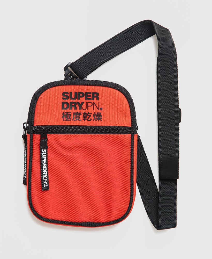 sacoche superdry orange