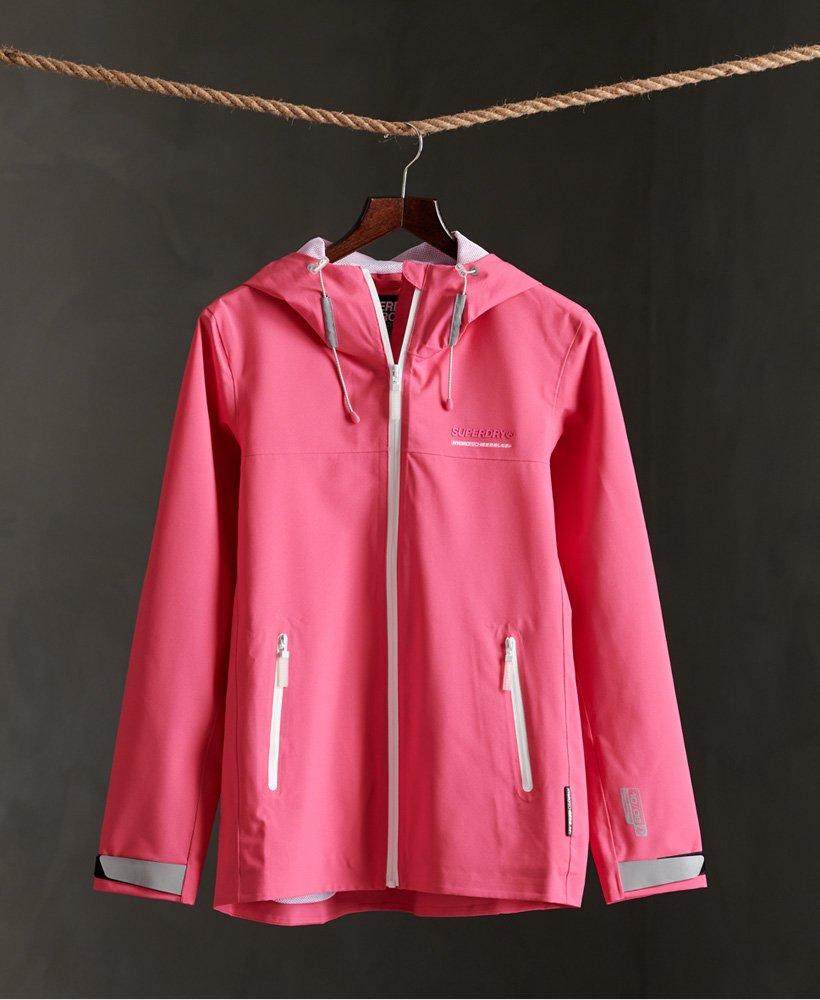 Superdry Womens Ls Essentials Harpa Waterproof Jacket