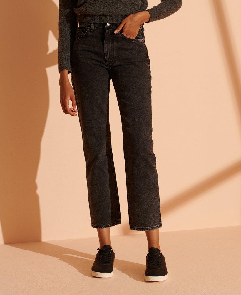Superdry High Rise rechte jeans
