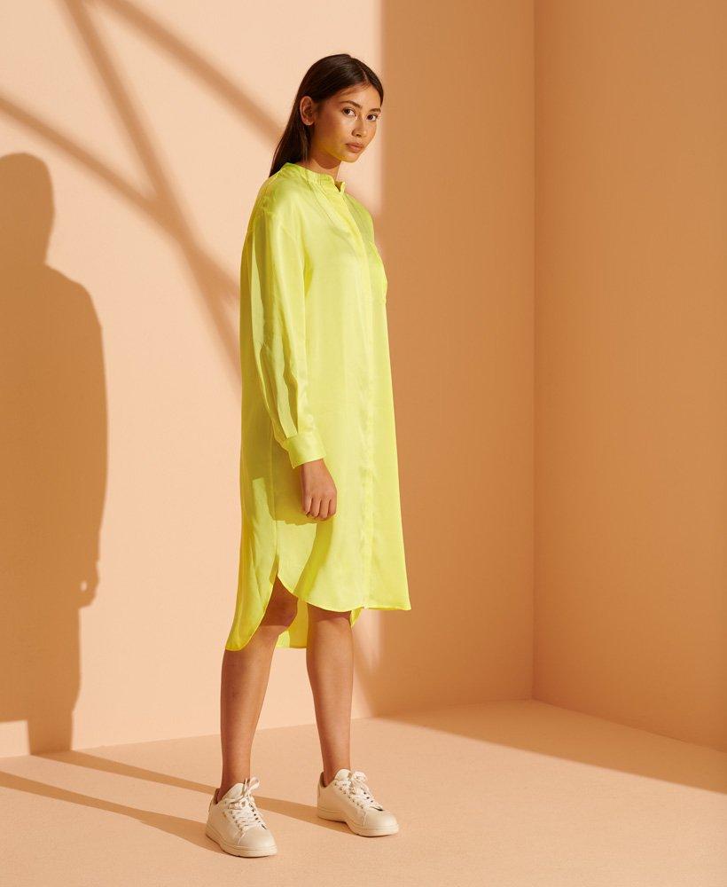 Superdry Limited Edition Silk Shirt Dress 0