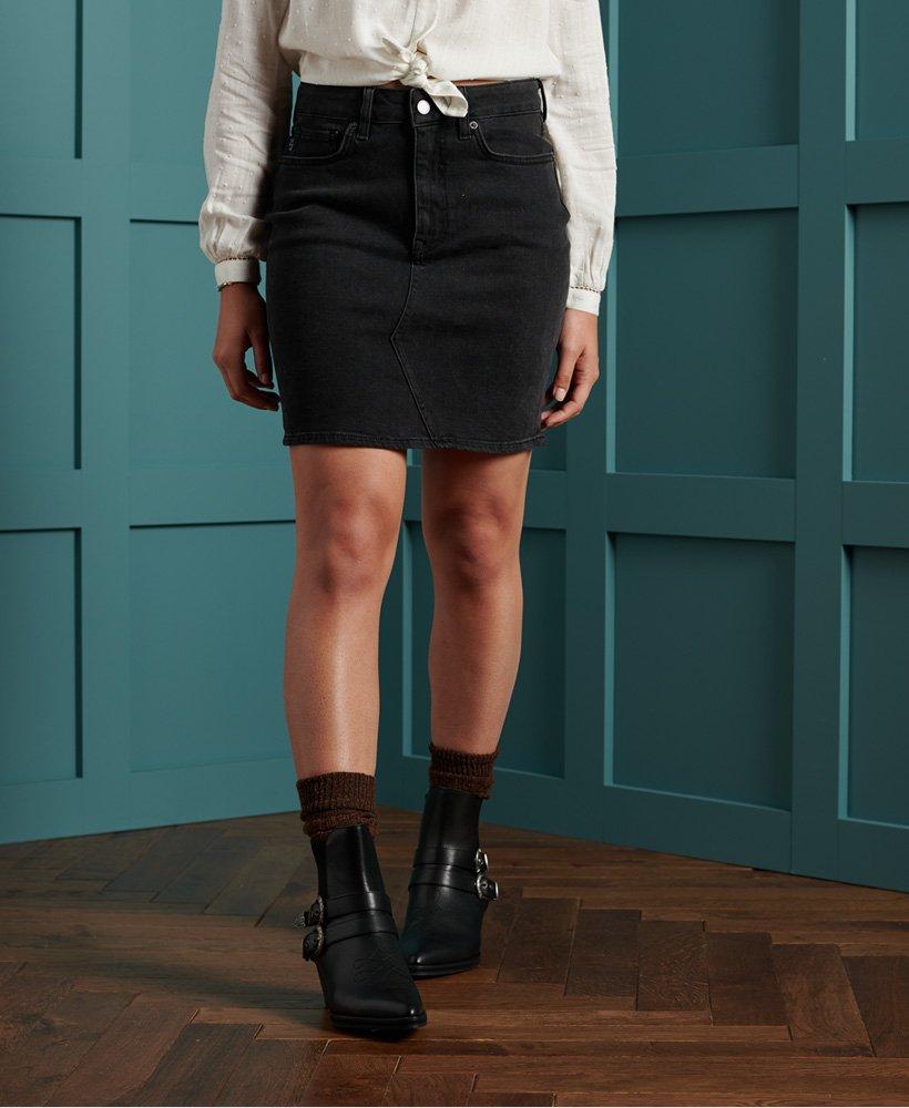 Superdry High Rise Mini Skirt