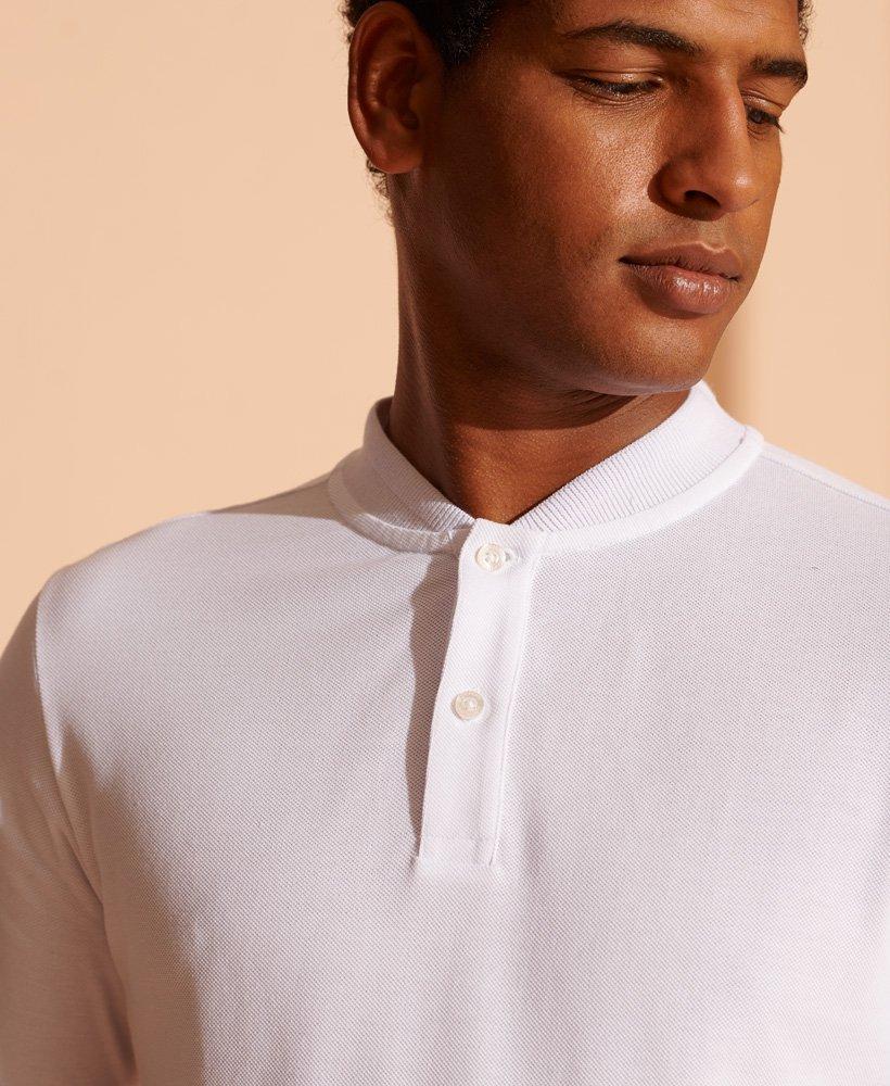 Superdry Piké poloskjorte med Henley krage Herre Polo t