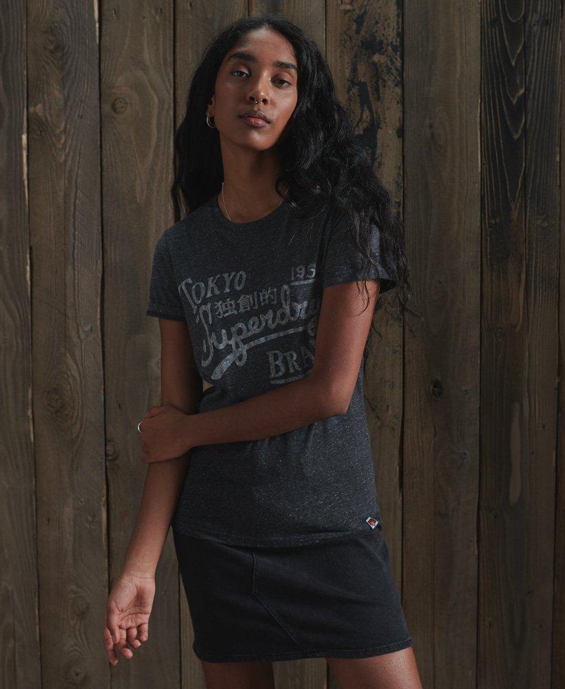 Superdry Klassisk Reworked T skjorte Dame T skjorter