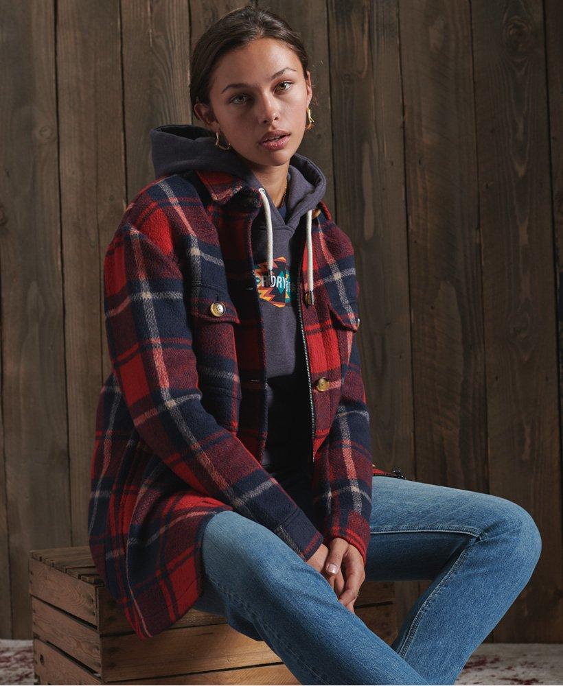 Superdry Heritage Brushed Shirt Jacket