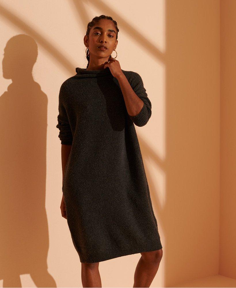 Superdry Isabella jurk met trechterhals
