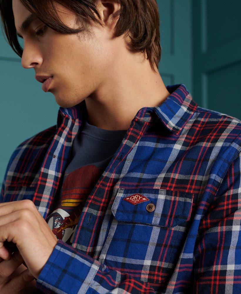Superdry Camisa clásica de leñador Camisas para Hombre