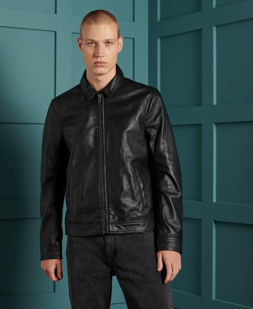 Superdry Curtis Light Leather Jacket 0