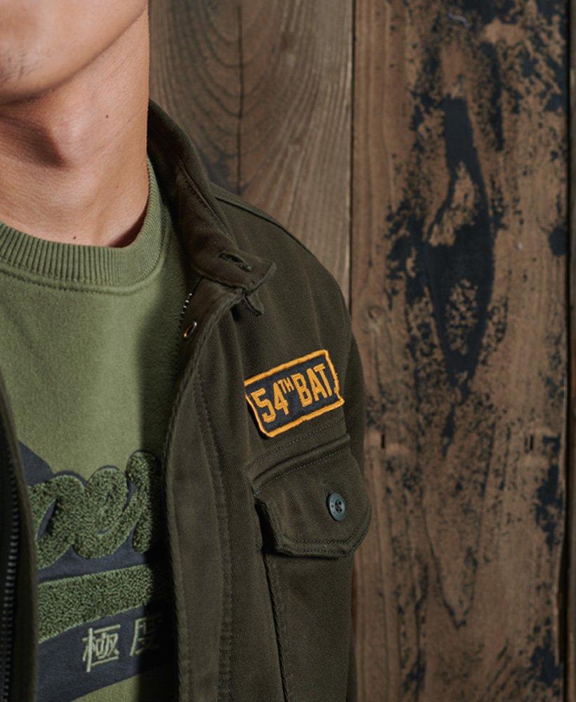 Superdry Core militærskjorte med lapper Herre Skjorter