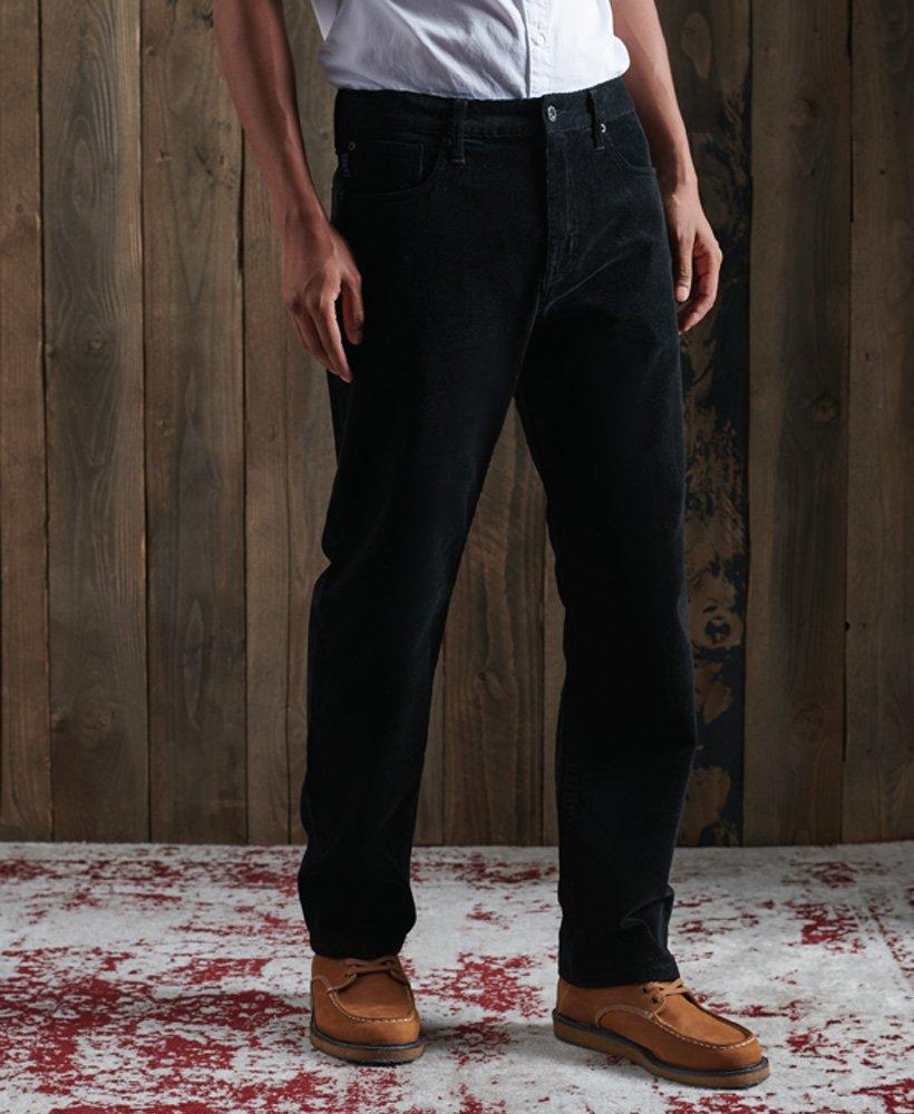Superdry Pantalones De Pana De Cinco Bolsillos Y Corte Recto Hombre Pantalones