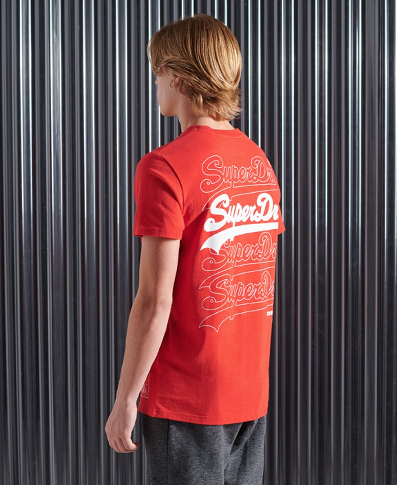 Superdry Vintage Logo Multi T skjorte Herre T skjorter