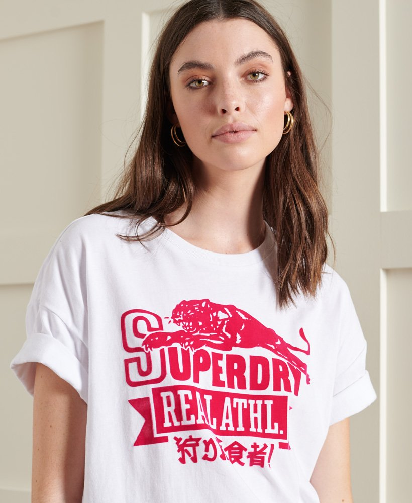 Superdry Womens Real Heritage Duo T-Shirt