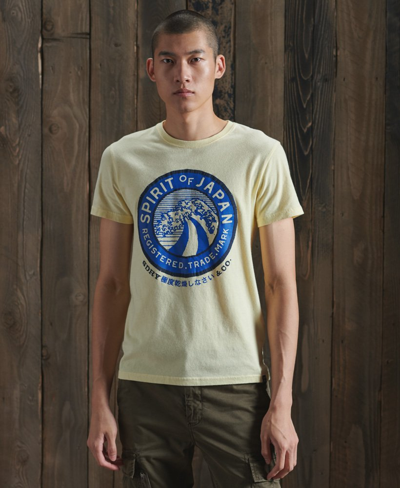 Homme Superdry Japon T-Shirt