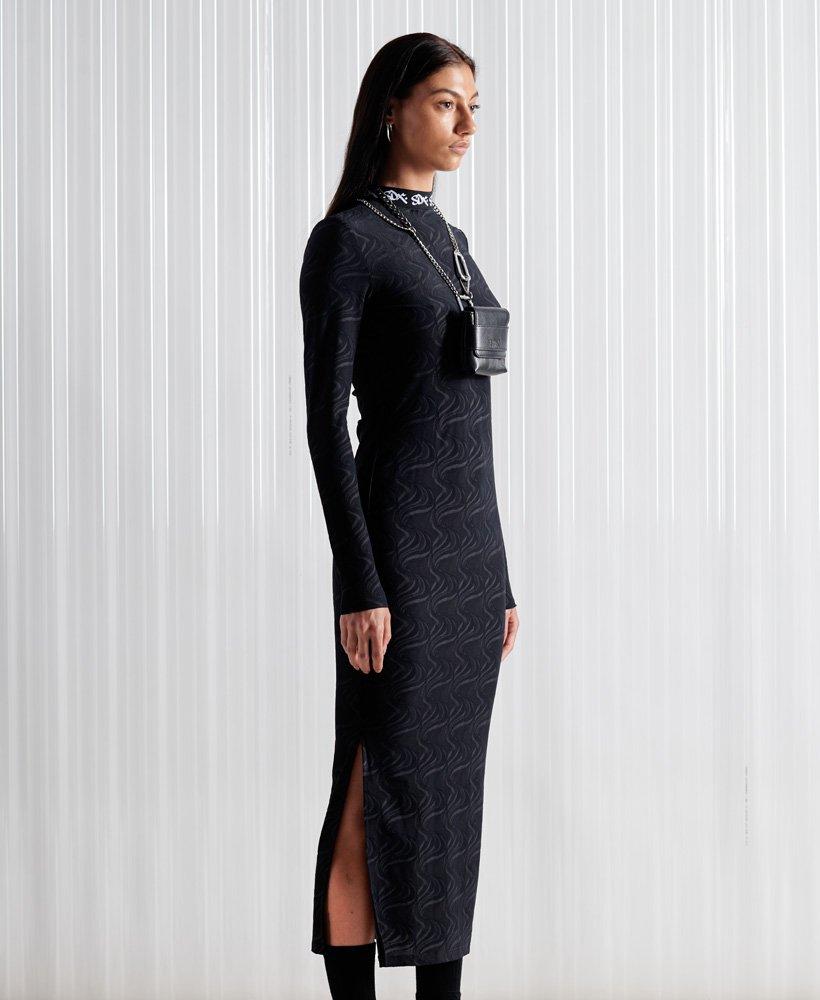 Superdry Limited Edition SDX jurk van jacquard mesh 0