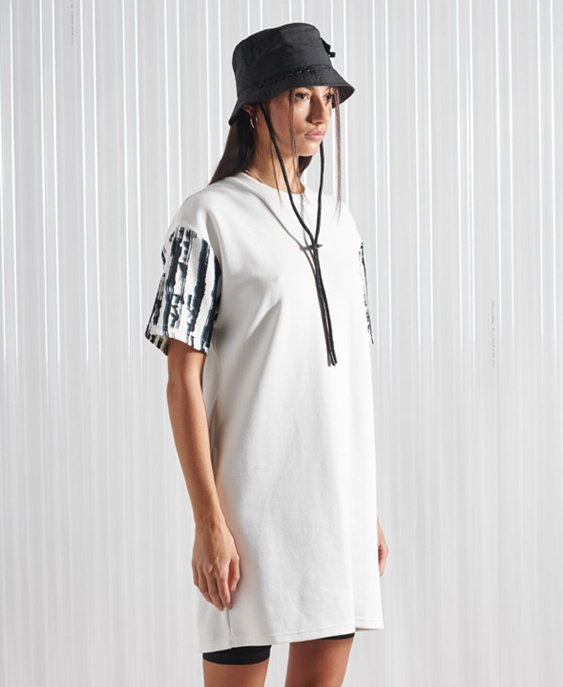Superdry Limited Edition SDX Heavy T-Shirt Dress 0