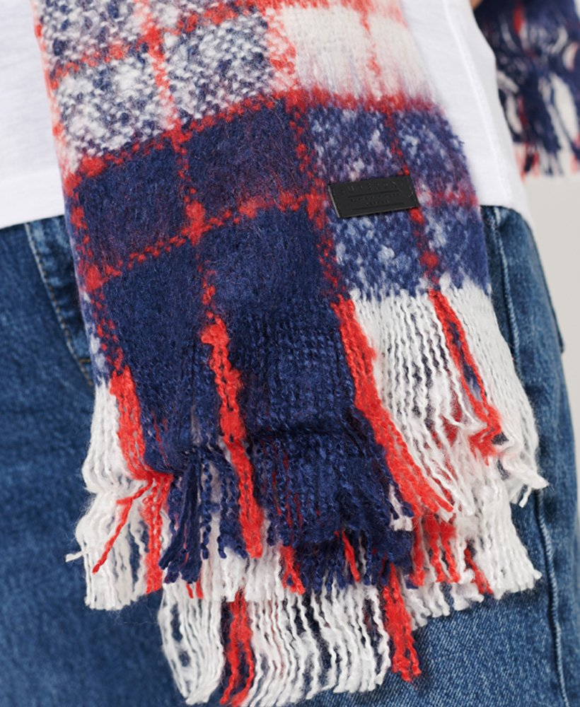 Superdry Womens Super Orkney Scarf