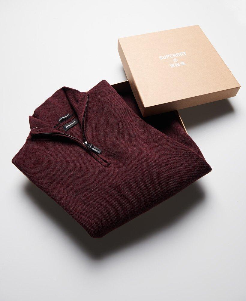 Superdry Merino Henley Jumper Gift Box