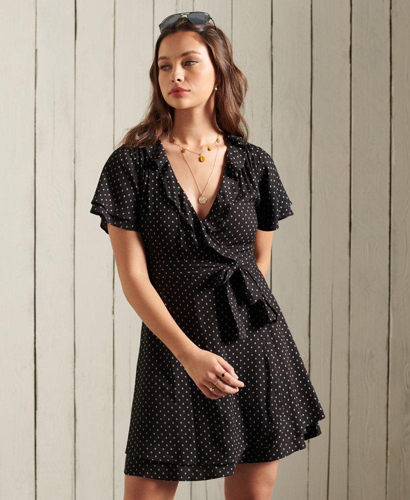 superdry sommerwickelkleid  damen kleider