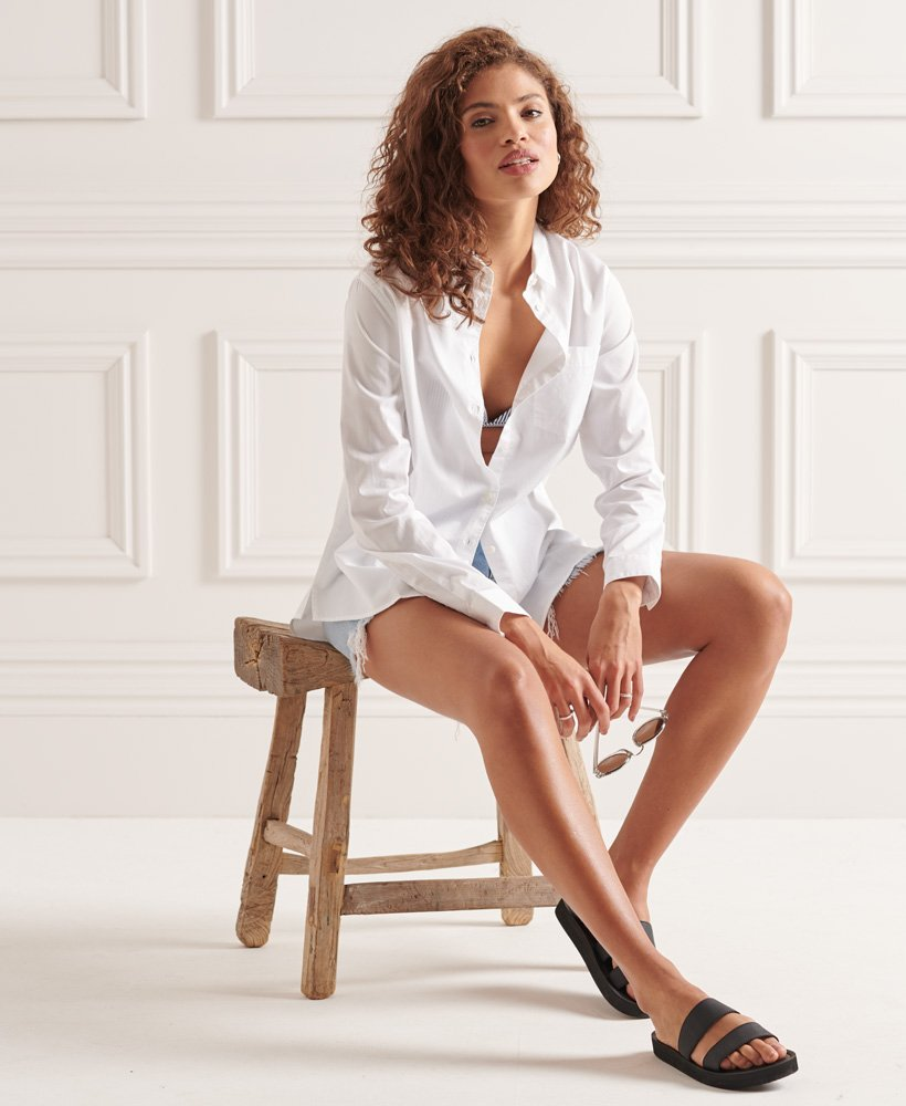 Superdry Modern Tailor Long Sleeved Shirt