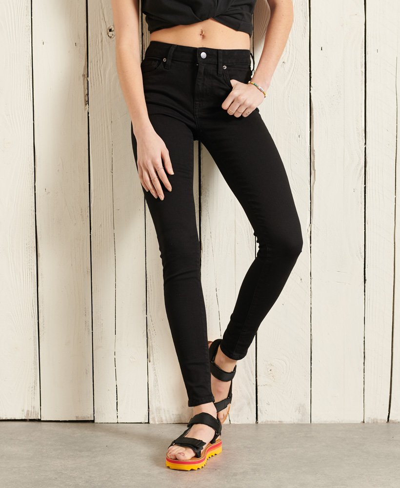 Superdry Mid Rise Skinny Jeans 0