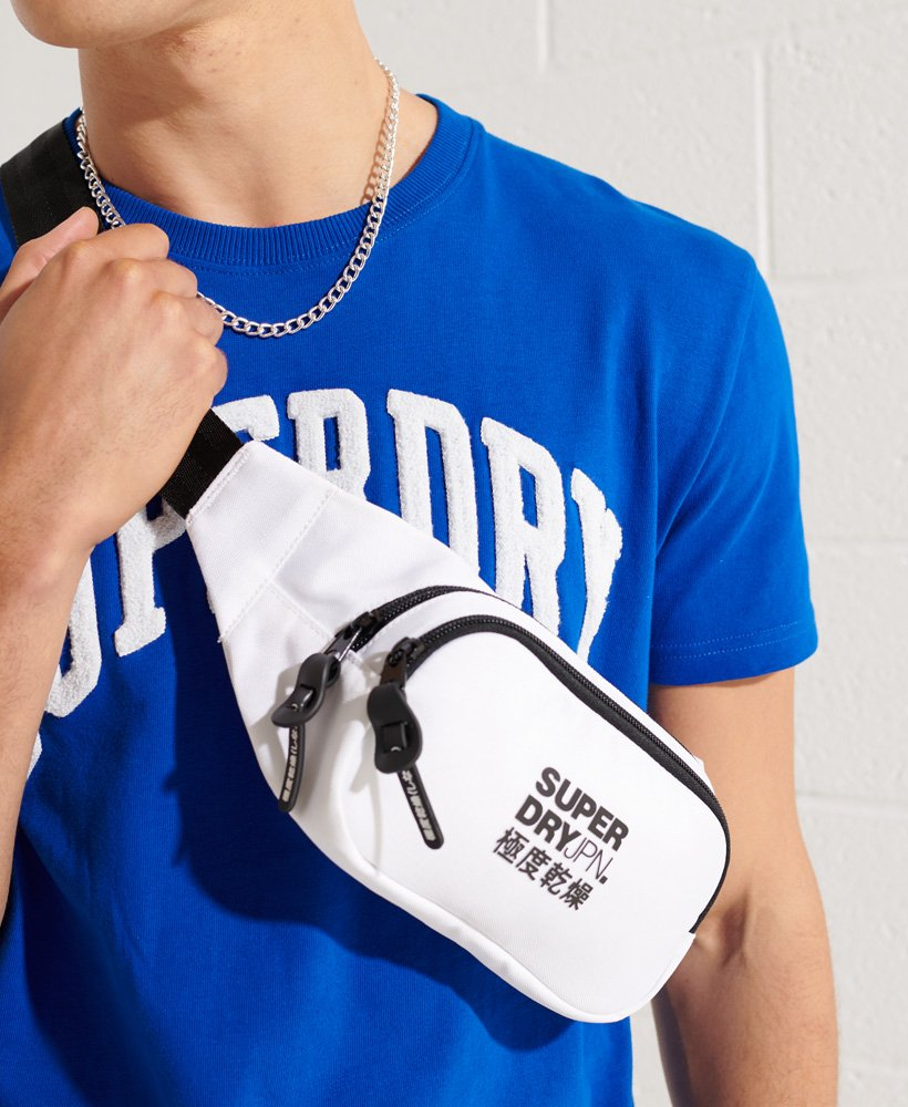 Superdry Homme Petit Sac Banane Taille 1 Taille