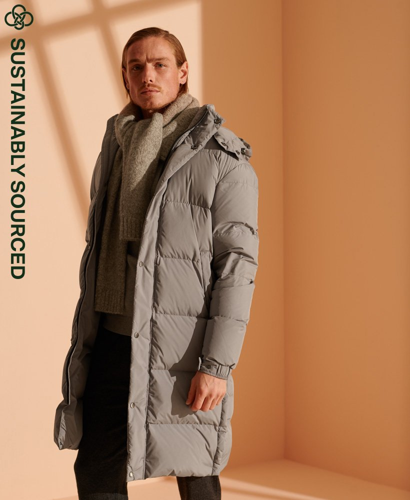 Superdry Limited Edition Longline Recycled Down Jacket  0