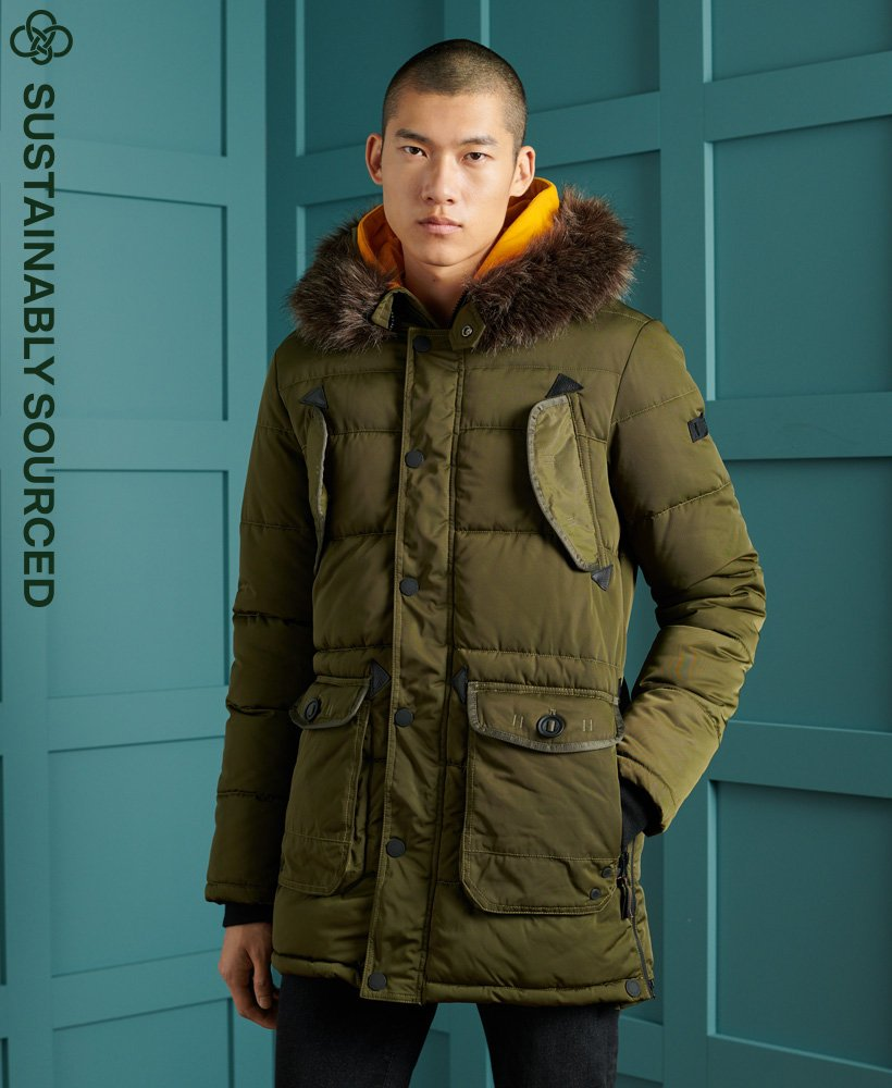 Superdry Chinook Parka Coat 0