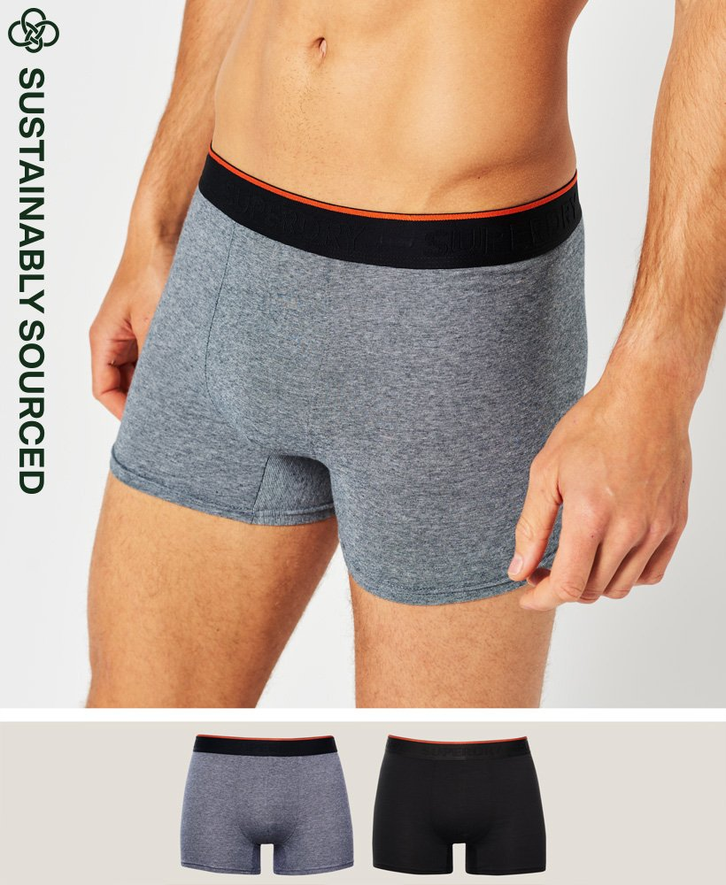 Superdry Organic Cotton Classic Boxer Double Pack 0