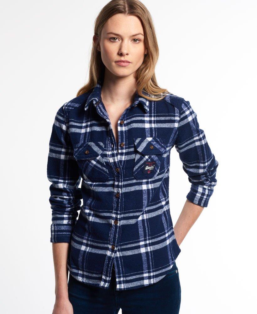 Superdry Milled Flannel overhemd 0