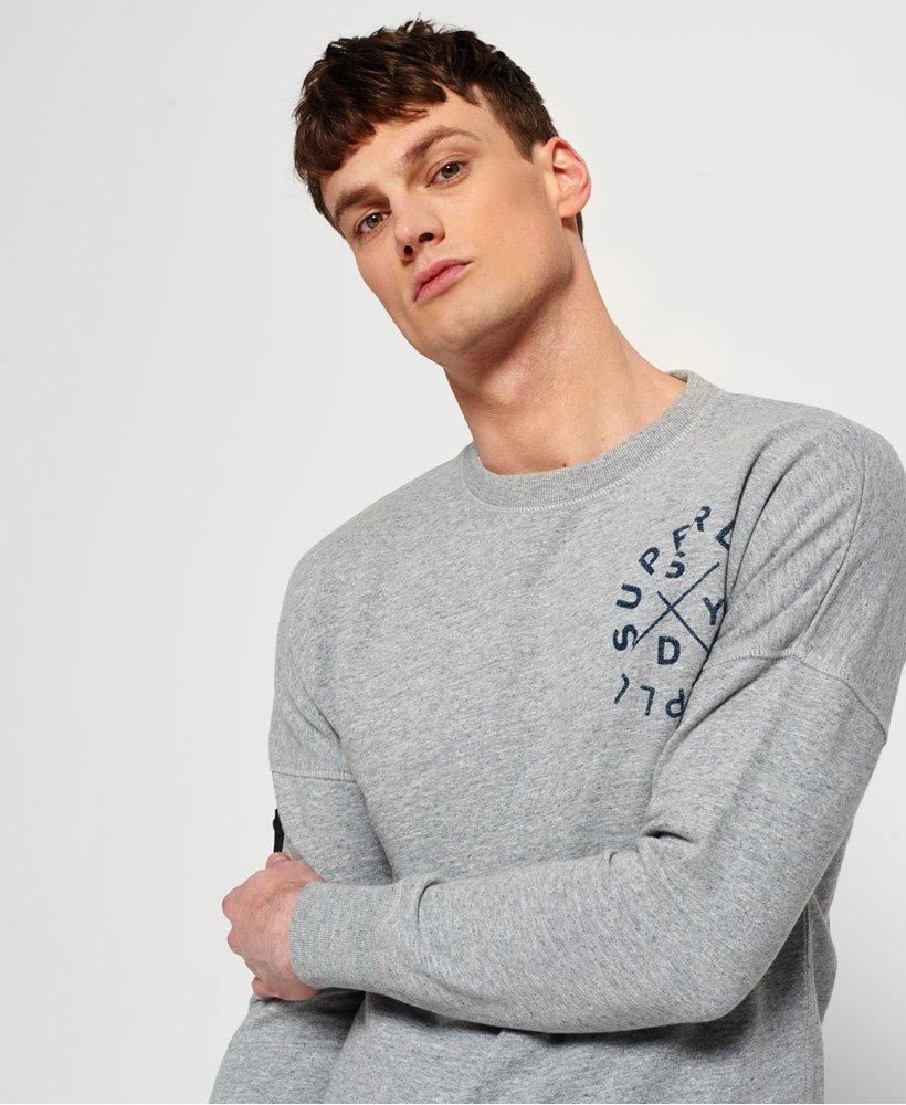 Superdry Herren Surplus Goods Low Rider Crew Sweatshirt