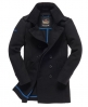 Superdry Bridge Coat Black